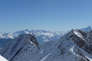 Top of courmayeur