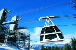 The Vanoise Express cable car