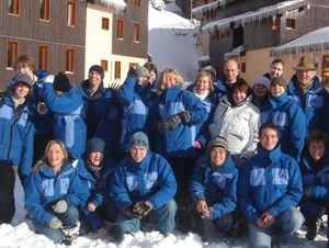 Ski Beat resort staff