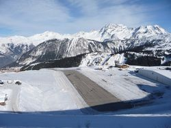 The Altiport at Courchevel 1850