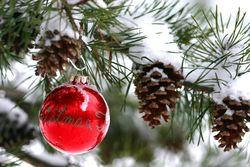 Christmas bauble original