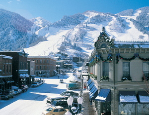 Aspen, Colorado, in winter