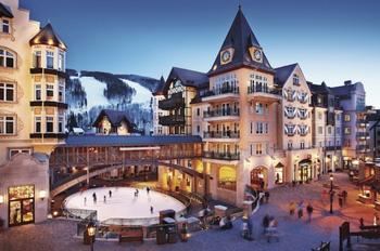 Vail ski town, Colorado