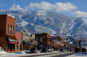 Steamboat Springs ski resort, Colorado