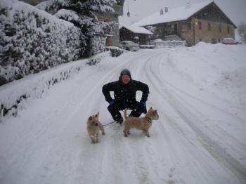 Richard wwith Ellie and Teddy